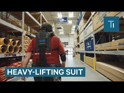 Lowe's is giving its workers Iron Man suits to carry your lumber