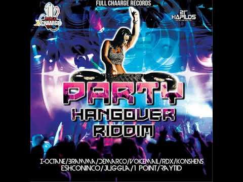 Party Hangover Riddim Mix- New Dancehall 2018 (Demarco  I-Octane  Konshens  Vybz Kartel  VoiceMail.