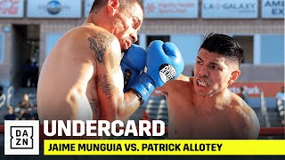 Jaime Munguia vs. Patrick Allotey Undercard