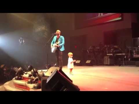 Adorable Baby Crashes Daddy's Concert