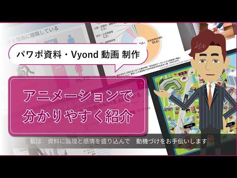 Vyondで動画制作します どんなものでも、丸投げすれば動画にします イメージ1