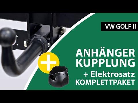 Anhängerkupplung abnehmbar VW GOLF II    AUTO-HAK Komplettsatz + Montage von Rameder