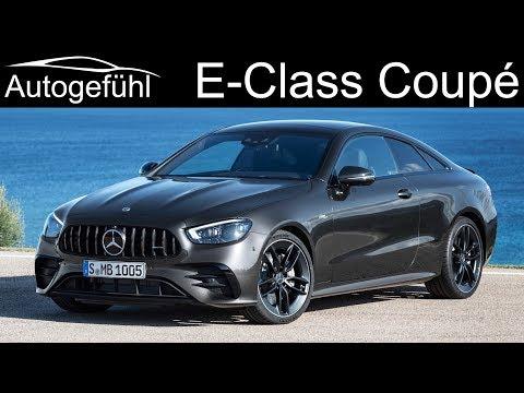 New Mercedes E-Class Coupé E53 AMG & Cabriolet Facelift 2021 update PREVIEW E Class 2020