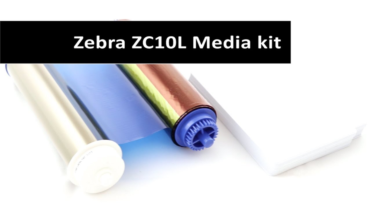 Zebra ZC10L Media Kit - 105999-10L