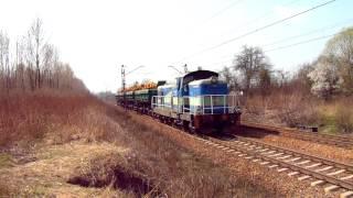 preview picture of video 'SM42-2595 PUH Lokomotiv - kolejna podkuta Stonka'