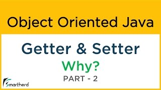#9.2 Java GETTER and SETTER tutorial to get and set Field Variables. Object Oriented Java Tutorial