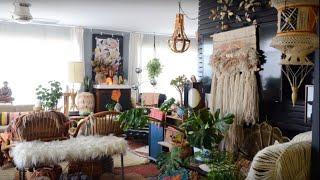 A Maximalistic Boho Home In Oakland