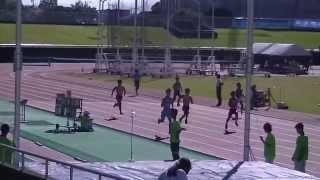20151012中部陸協記録会男子400m4組