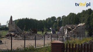 Zawaliła się stodoła  Mężczyzna zginął pod gruzami