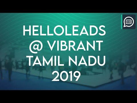 HelloLeads Regi - Vibrant Tamilnadu 2019 went fully digital