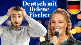Musik zum Deutschlernen | Deutsch lernen mit Helene Fischer | Hörverstehen B1, B2, C1