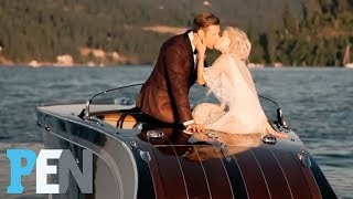 Watch Julianne Hough's Perfect Wedding To Brooks Laich On The Lake | PEN | People