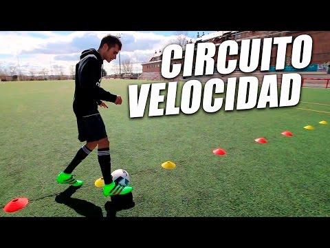 Como Aumentar Tu Velocidad en Fútbol - Circuito Básico Velocidad y Agilidad (Entrenamientos Fútbol)