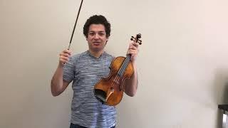 Journey to No Shoulder Rest for Violinists