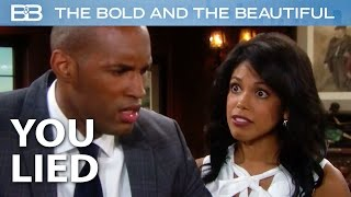 You Kept This From Me The Whole Time! / The Bold And The Beautiful