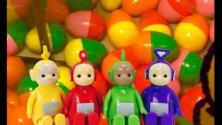 TELETUBBIES Toys Retro Chicken Egg Suprise Machine!
