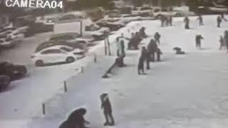 ДТП в городе Уральск 18.02.2018г