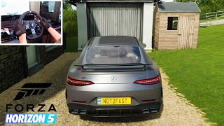 Forza Horizon 5 - Mercedes AMG GT63S 4 Door Coupe   Realistic Driving   Logitech G920   FH5 Gameplay