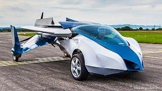 Первый в мире летающий автомобиль AeroMobil выйдет в 2017
