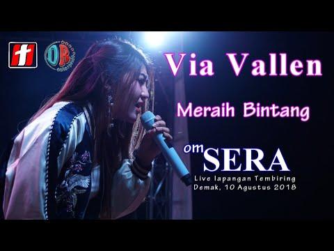 Via Vallen - Meraih Bintang ( Dangdut Version ) - OM.SERA Live Demak 2018