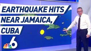 Did Miami Feel an Earthquake? John Morales Explains After 7.7 Quake Hits Caribbean Sea   NBC 6