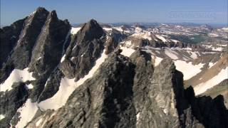 Grand Teton National Park from the Air