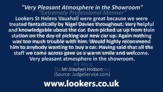 preview picture of video 'Lookers Vauxhall St Helens Reviews'