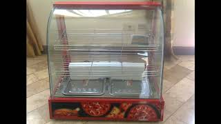 Commercial Food Warmer Showcase Glass Display For Sale Philippines