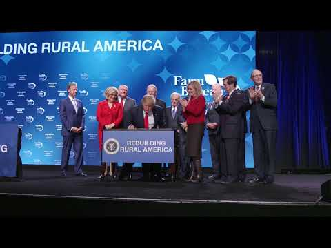 President Trump Delivers Remarks to the American Farm Bureau Federation