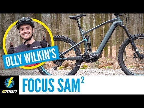 Olly Wilkins' Custom Focus SAM² | EMBN Pro E-Bike