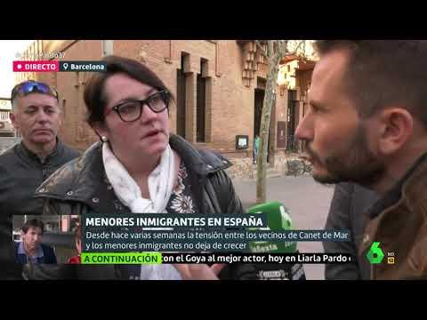 Tensión entre los vecinos de Canet de Mar y menas, en 'Liarla Pardo' de laSexta