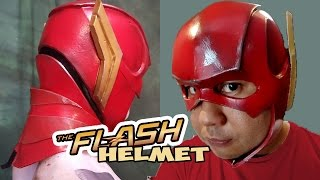 the Flash Justice League cosplay Helmet