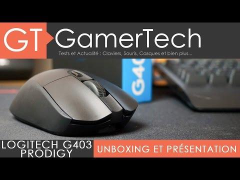 Logitech G403 Prodigy - Unboxing & Test [FR] - Une souris sans-fil efficace pour le jeu !