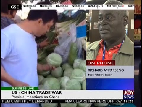 US – China Trade War - Business Live on JoyNews (19-9-18)