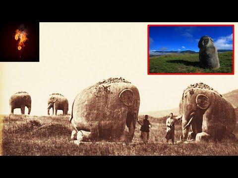 Wie heeft de megalieten van de Bada-valleien gemaakt?
