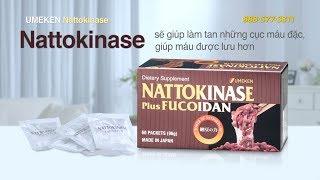 link youtube of Nattokinase (plus Fucoidan) / Dùng khoảng 2 tháng (60 bao)