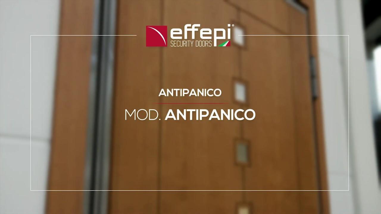 ANTIPANICO: SECURITY FOR PUBLIC SPACES - Effepi Security Doors - Armored Doors M