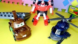 Эвакуатр Мэтр - трансформер, игрушечные машинки и Тоботы - трансформеры. Видео с игрушками