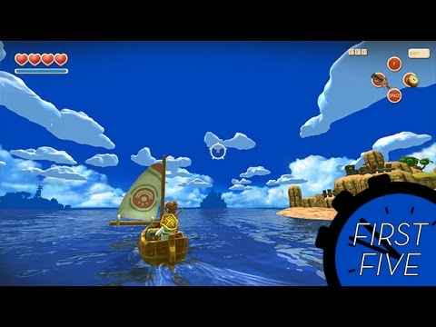 The First Five Zelda-Riffic Minutes Of Oceanhorn
