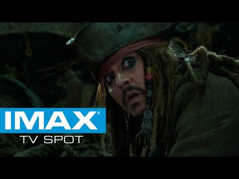 Pirates of the Caribbean: Dead Men Tell No Tales (TV Spot 'IMAX')