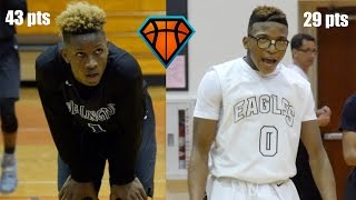 Trent Frazier Drops 43 Points & A Game-Winner In Battle With Atlantic's Rodwens Albert!!