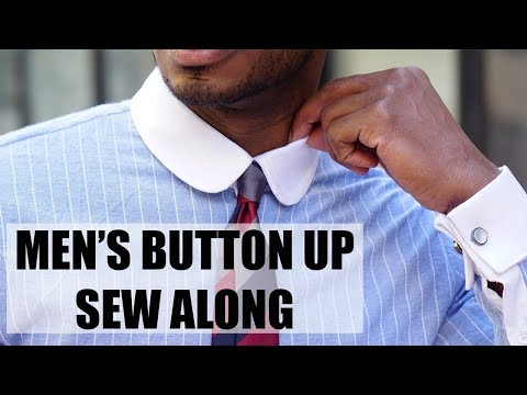 Download DIY: MENS BUTTON UP SEW ALONG HD Mp4 3GP Video and MP3