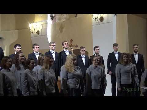 varšuvos politechnikos akademinio choro koncerto po angel
