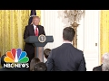 Peter Alexander Fact Checks President Donald Trump On Incorrect Electoral College Margin  NBC News