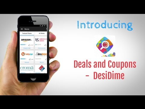 Video of DesiDime Free Deals & Coupons