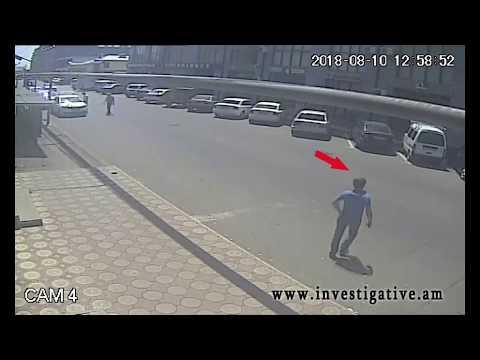 Մանանդյան փողոցում կայանված մեքենայից գողություն է կատարվել (տեսանյութ)