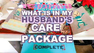 WHAT IS IN MY HUSBANDS CARE PACKAGE//MILITARY CARE PACKAGE TIPS/Homemaking With Heather