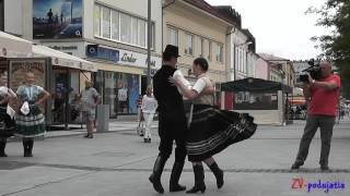 preview picture of video 'Akademický Zvolen 2013 - Námestie SNP'