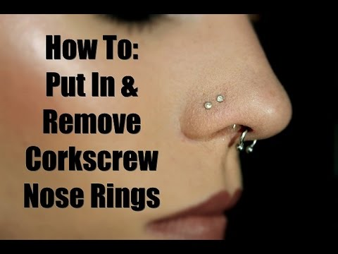 can you use contact solution to clean a nose piercing ...