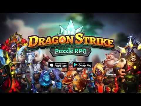 Dragon Strike: Puzzle RPG Video